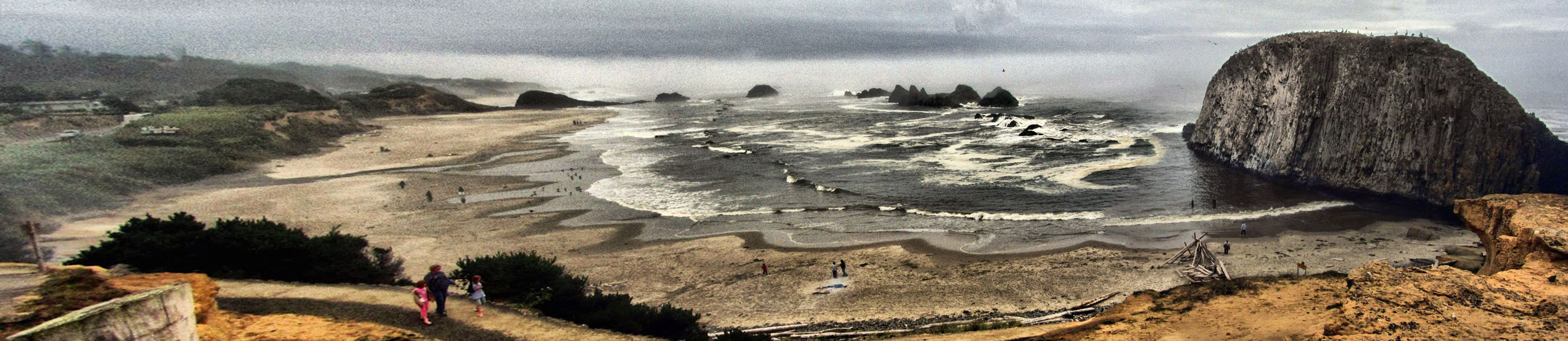A Walk in The Clouds on the Oregon Coast